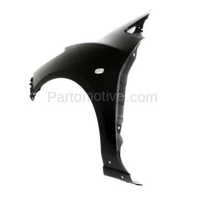 Aftermarket Replacement - FDR-1471L 11-14 Mazda2 Front Fender Quarter Panel Left Driver Side LH MA1240165 D65152211C - Image 3