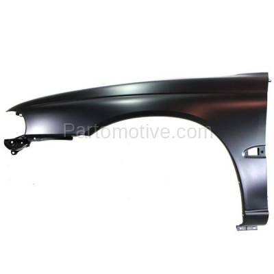 Aftermarket Replacement - FDR-1435L 95-99 Legacy Front Fender Quarter Panel Left Driver Side LH SU1240112 57110AC090 - Image 1