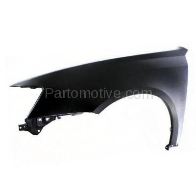 Aftermarket Replacement - FDR-1432L 05-07 Legacy Front Fender Quarter Panel Left Driver Side SU1240124 57110AG05B9P - Image 2