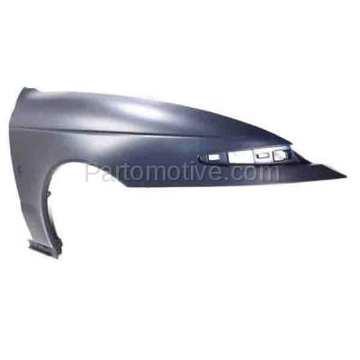 Aftermarket Replacement - FDR-1416R 00-02 L-Series Front Fender Quarter Panel Passenger Side RH GM1241280 22682618 - Image 2