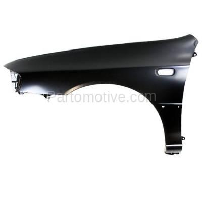 Aftermarket Replacement - FDR-1397L 98-01 Impreza RS Front Fender Quarter Panel Driver Side LH SU1240117 57110FA050 - Image 1