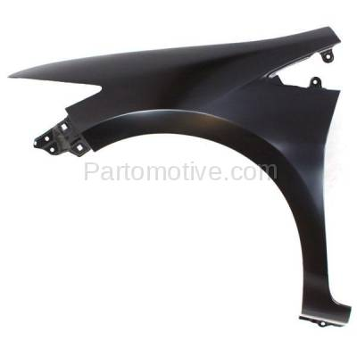 Aftermarket Replacement - FDR-1398L 10-14 Insight Front Fender Quarter Panel Driver Side LH HO1240177 60261TM8A90ZZ - Image 1