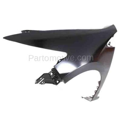 Aftermarket Replacement - FDR-1398L 10-14 Insight Front Fender Quarter Panel Driver Side LH HO1240177 60261TM8A90ZZ - Image 2