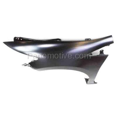 Aftermarket Replacement - FDR-1398L 10-14 Insight Front Fender Quarter Panel Driver Side LH HO1240177 60261TM8A90ZZ - Image 3