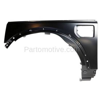Aftermarket Replacement - FDR-1443L 10-16 LR4 Front Fender Quarter Panel Left Driver Side Steel RO1240104 LR056240 - Image 1