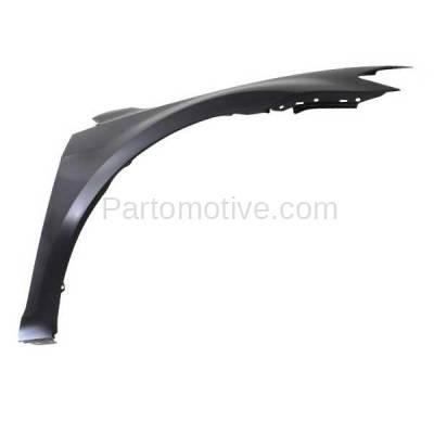 Aftermarket Replacement - FDR-1359R 15-16 VW Golf Front Fender Quarter Panel Passenger Side RH VW1241148 5G0821106A - Image 2