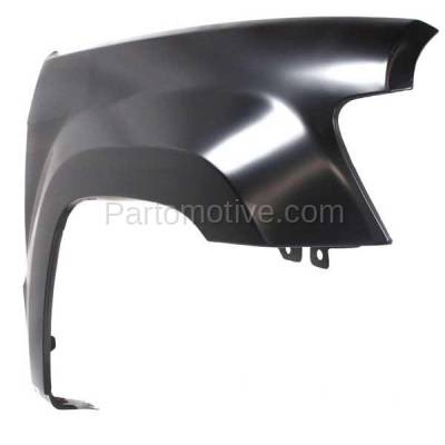 Aftermarket Replacement - FDR-1364R 05-10 Grand Cherokee Front Fender Quarter Panel Right Side CH1241242 55394450AB - Image 2