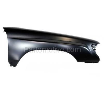 Aftermarket Replacement - FDR-1328R 98-02 Forester Front Fender Quarter Panel Passenger Side RH SU1241116 57120FC060 - Image 1