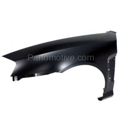 Aftermarket Replacement - FDR-1753L Front Fender Quarter Panel Driver Side LH For 03-06 Tiburon HY1240133 663112C020 - Image 2