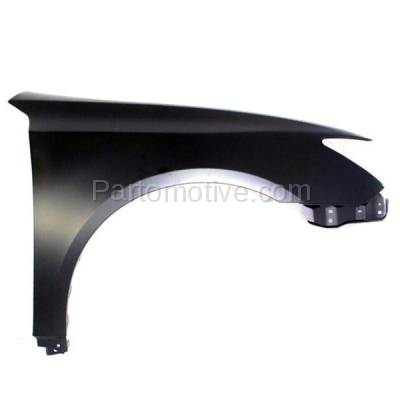 Aftermarket Replacement - FDR-1256R 07-12 ES350 Front Fender Quarter Panel Right Passenger Side LX1241113 5381133180 - Image 1