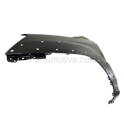 Aftermarket Replacement - FDR-1717L Front Fender Quarter Panel Driver Side For 05-10 Sportage EX w/Luxury KI1240121 - Image 2