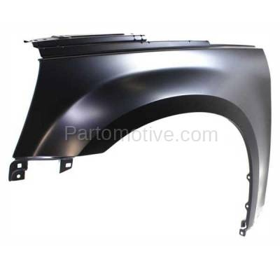 Aftermarket Replacement - FDR-1250L 05-09 Chevy Equinox Front Fender Quarter Panel Driver Side LH GM1240319 25849189 - Image 2