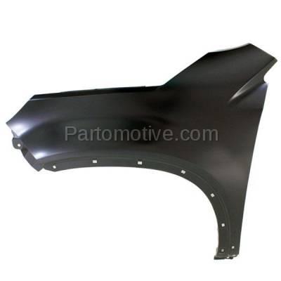 Aftermarket Replacement - FDR-1705L Front Fender Quarter Panel Driver Side LH For 12-15 Sorento KI1240140 663111U021 - Image 1