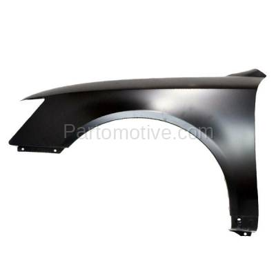 Aftermarket Replacement - FDR-1695L Front Fender Quarter Panel LH Driver Side Fits 06-10 Sonata HY1240134 663100A000 - Image 1