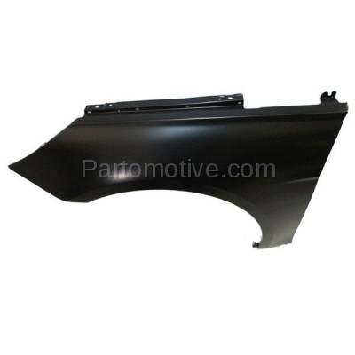 Aftermarket Replacement - FDR-1697L Front Fender Quarter Panel Left Driver Side Fits 11-15 Sonata Hybrid HY1240151 - Image 3