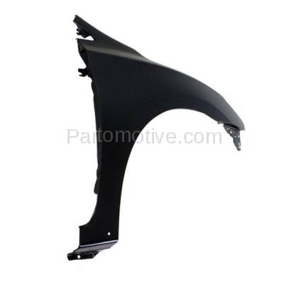 Aftermarket Replacement - FDR-1667R Front Fender Quarter Panel Passenger Side Fits 13-15 Sentra NI1241206 F31003SGAA - Image 2