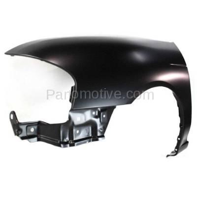 Aftermarket Replacement - FDR-1664L Front Fender Quarter Panel Driver Side LH Fits 00-06 Sentra NI1240168 F31015M030 - Image 2