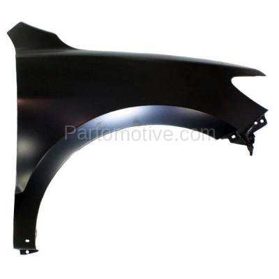 Aftermarket Replacement - FDR-1656R Front Fender Quarter Panel Right Side Fits 10-12 Santa Fe HY1241147 663200W500 - Image 1