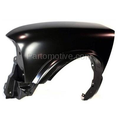 Aftermarket Replacement - FDR-1641L Chevy S10 Pickup Truck 4WD Front Fender Quarter Panel Left Driver Side LH w/ZR2 - Image 2