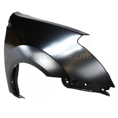 Aftermarket Replacement - FDR-1621R Front Fender Quarter Panel Passenger Side For 08-10 Rogue NI1241188 FCA00JM0MA - Image 2