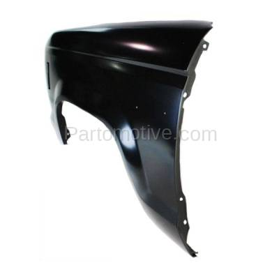 Aftermarket Replacement - FDR-1596L 83-88 Ranger Pickup Front Fender Quarter Panel Driver Side FO1240117 E6TZ16006A - Image 3