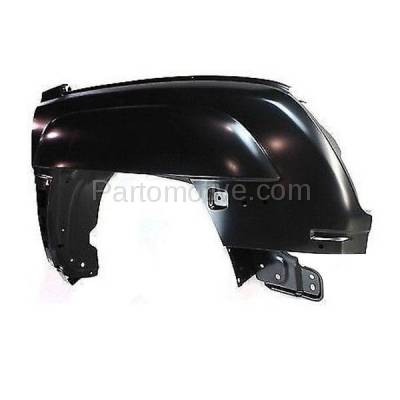 Aftermarket Replacement - FDR-1090R 2002-2006 Chevrolet Avalanche 1500/2500 (with Textured Body Cladding) Front Fender Quarter Panel Primed Steel Right Passenger Side - Image 3