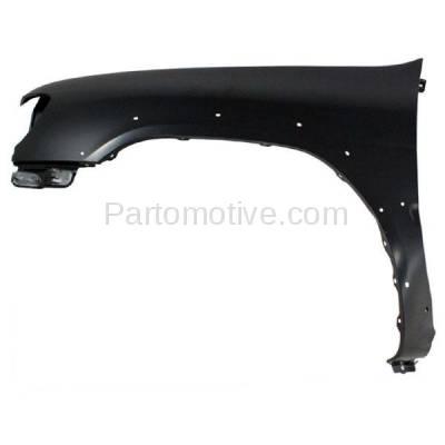 Aftermarket Replacement - FDR-1561L Front Fender Quarter Panel Driver Side For 99-02 Pathfinder NI1240173 F31012W635 - Image 1