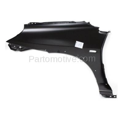 Aftermarket Replacement - FDR-1074R 2002-2007 Suzuki Aerio (2.0 & 2.3 Liter) (Sedan & Wagon) Front Fender Quarter Panel (with Molding Holes) Primed Right Passenger Side - Image 3