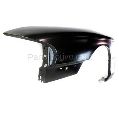 Aftermarket Replacement - FDR-1522L 94-98 Mustang Front Fender Quarter Panel Left Driver Side FO1240168 F6ZZ16006AA - Image 2