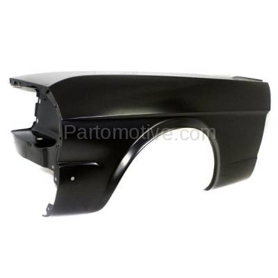 Aftermarket Replacement - FDR-1518L 64-66 Mustang Front Fender Quarter Panel Left Driver Side FO1240101 C5ZZ16006A - Image 2