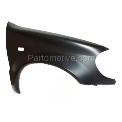 Aftermarket Replacement - FDR-1507R 98-99 ML-Class 163 Chassis Front Fender Quarter Panel Passenger Side MB1241119 - Image 2