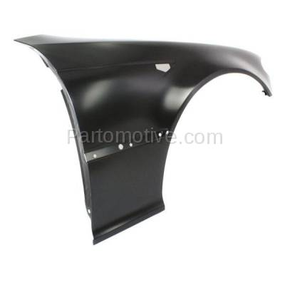 Aftermarket Replacement - FDR-1003R 2003-2006 BMW 3- Series 2.5L & 3.0L (Convertible & Coupe 2-Door) Front Fender Quarter Panel Primed/Steel Right Side - Image 2