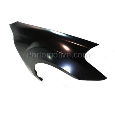 Aftermarket Replacement - FDR-1506R 06-11 ML-Class 164 Chassis Front Fender Quarter Panel Passenger Side MB1241130 - Image 2