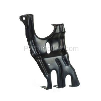 Aftermarket Replacement - RSP-1504L 2001-2007 Mercedes Benz C-Class & 2003-2009 CLK-Class Front Radiator Support Center Bracket Brace Panel Primed Steel Left Driver Side - Image 2