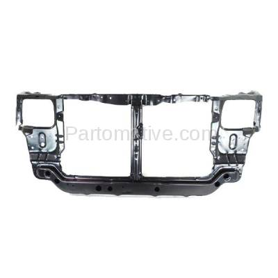 Aftermarket Replacement - RSP-1384 2000-2002 Hyundai Accent (GL, GS, L) (1.5L & 1.6L) (with Manual Transmission) Front Radiator Support Core Assembly Primed Steel - Image 1