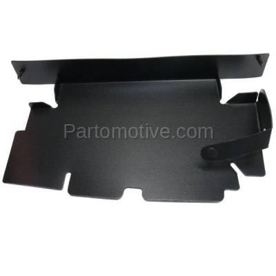 Aftermarket Replacement - RSP-1292R 2007-2013 GMC Sierra Pickup Truck 1500 & 2007-2014 Sierra 2500HD/3500HD Front Radiator Support Baffle Panel Plastic Passenger Side - Image 1