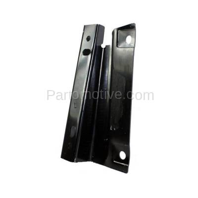 Aftermarket Replacement - RSP-1187L 1987-1991 Ford Bronco & 1987-1996 F-Series Pickup Truck Front Radiator Support Crossmember Bracket Panel Primed Steel Left Driver Side - Image 2