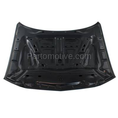 Aftermarket Replacement - HDD-1124 2011-2014 Dodge Charger (Pursuit, R/T, SE, SRT8, SXT, SXT Plus) Sedan 4-Door Front Hood Panel Assembly Primed Steel - Image 3