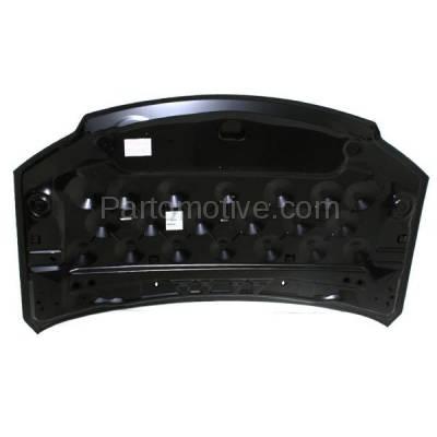 Aftermarket Replacement - HDD-1123 2011-2016 Chrysler Town & Country & 2011-2018 Dodge Grand Caravan & 2012-2015 Ram C/V (3.6L V6) Cargo & Passenger Van Front Hood Panel Assembly Primed Steel - Image 3