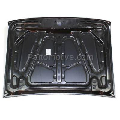 Aftermarket Replacement - HDD-1149 1993-1997 Ford Ranger Pickup Truck (Splash, Sport, STX, XL, XLT) Standard & Extended Cab (2WD & 4WD) Front Hood Panel Assembly Primed Steel - Image 3