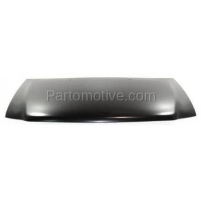 Aftermarket Replacement - HDD-1154 1997-2002 Ford Expedition & 1997-2004 F150 & 1997-1999 F250 Pickup Truck V6/V8 Front Hood Panel Assembly Primed Steel - Image 1