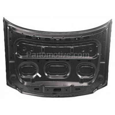 Aftermarket Replacement - HDD-1154 1997-2002 Ford Expedition & 1997-2004 F150 & 1997-1999 F250 Pickup Truck V6/V8 Front Hood Panel Assembly Primed Steel - Image 3
