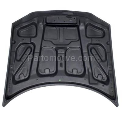Aftermarket Replacement - HDD-1228 1998-2002 Chevy Camaro (Base, Z28) 3.8 & 5.7 Liter V6/V8 Engine (Coupe & Convertible) Front Hood Panel Assembly Gelcoat Fiberglass - Image 3