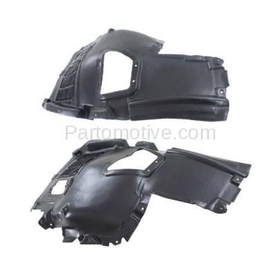 Aftermarket Replacement - IFD-1065L & IFD-1065R 10-17 5-Series Front Upper Splash Shield Inner Fender Liner Left Right SET PAIR - Image 3