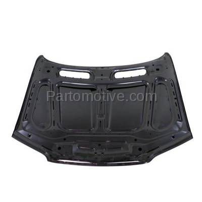 Aftermarket Replacement - HDD-1048 2000-2003 BMW X5 (3.0i, 4.4i, 4.6is) Sport Utility 4-Door Front Hood Panel Assembly Primed Steel - Image 3