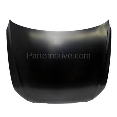 Aftermarket Replacement - HDD-1031 2009-2012 Audi Q5 (2.0L & 3.2L) Front Hood Panel Assembly Primed Steel - Image 1