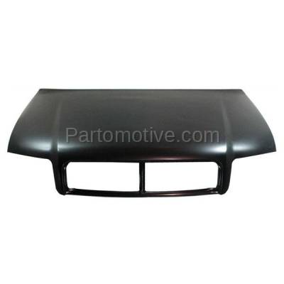 Aftermarket Replacement - HDD-1022 2002-2005 Audi A4/A4 Quattro/S4 (Sedan & Wagon 4-Door) Front Hood Panel Assembly Primed Steel - Image 1