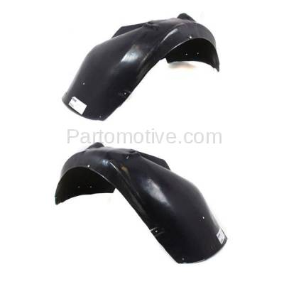 Aftermarket Replacement - IFD-1047L & IFD-1047R 07-09 A4 & 02-09 S4 Front Splash Shield Inner Fender Liner Left & Right PAIR SET - Image 3