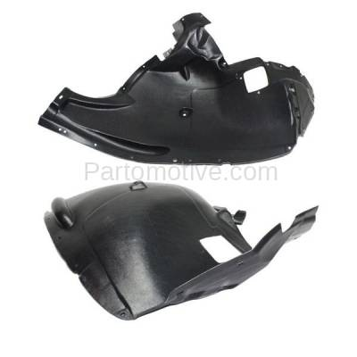 Aftermarket Replacement - IFD-1061L & IFD-1061R 11-13 X5 Front Splash Shield Inner Fender Liner Panel Left & Right Side SET PAIR - Image 2