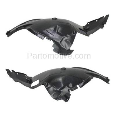 Aftermarket Replacement - IFD-1061L & IFD-1061R 11-13 X5 Front Splash Shield Inner Fender Liner Panel Left & Right Side SET PAIR - Image 3